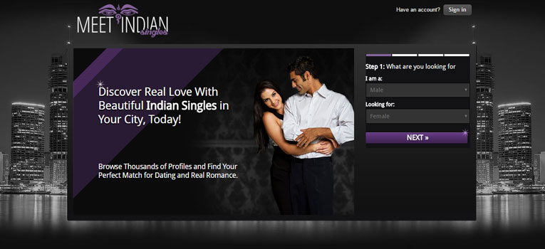 Dating sites for indian