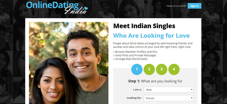 Indian online dating services